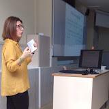 conferència d'Antonia Pertusa Cap de Compres i Logística Hospitalaria