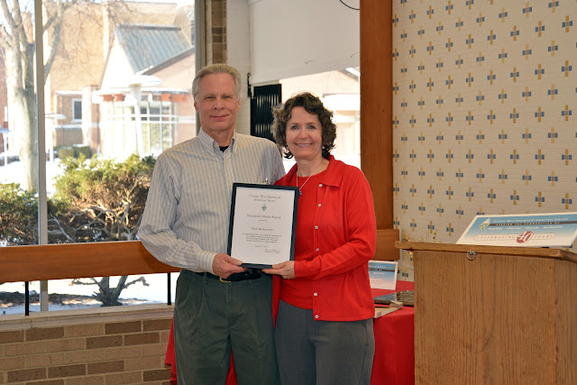 2015 Merit Awardee Paul Mellerowicz & Gina Gregory