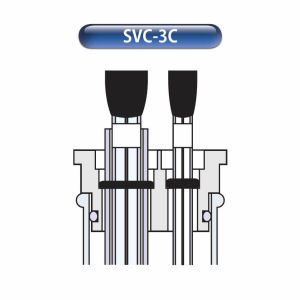 SVC-3 Voltammetry cell mode