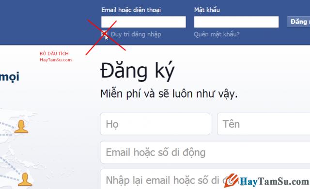 đặt mật khẩu facebook