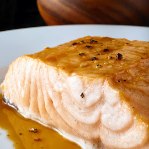 Broiled Salmon with Unagi Sauce