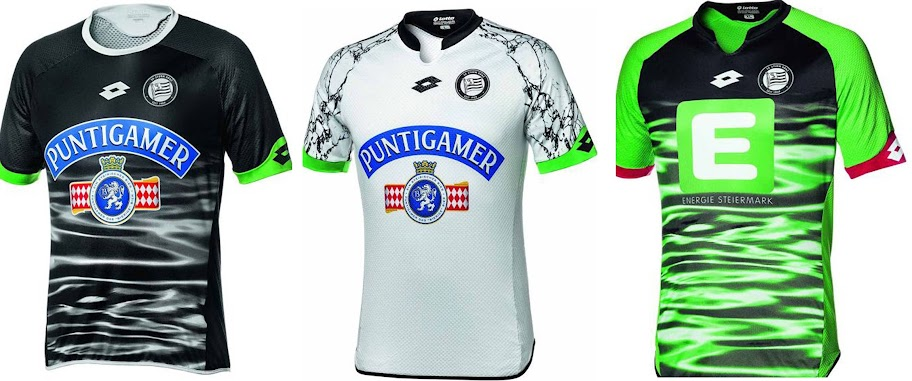 28ae38af7 Austria club SK Sturm Graz all three kits for 2015-16 season can be  candidates for the worst kits of this season.