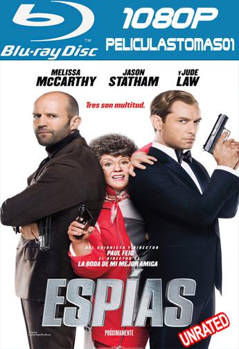 Espías (Spy: Una Espía Despistada) (Sin Censura) (2015) BDRip m1080p