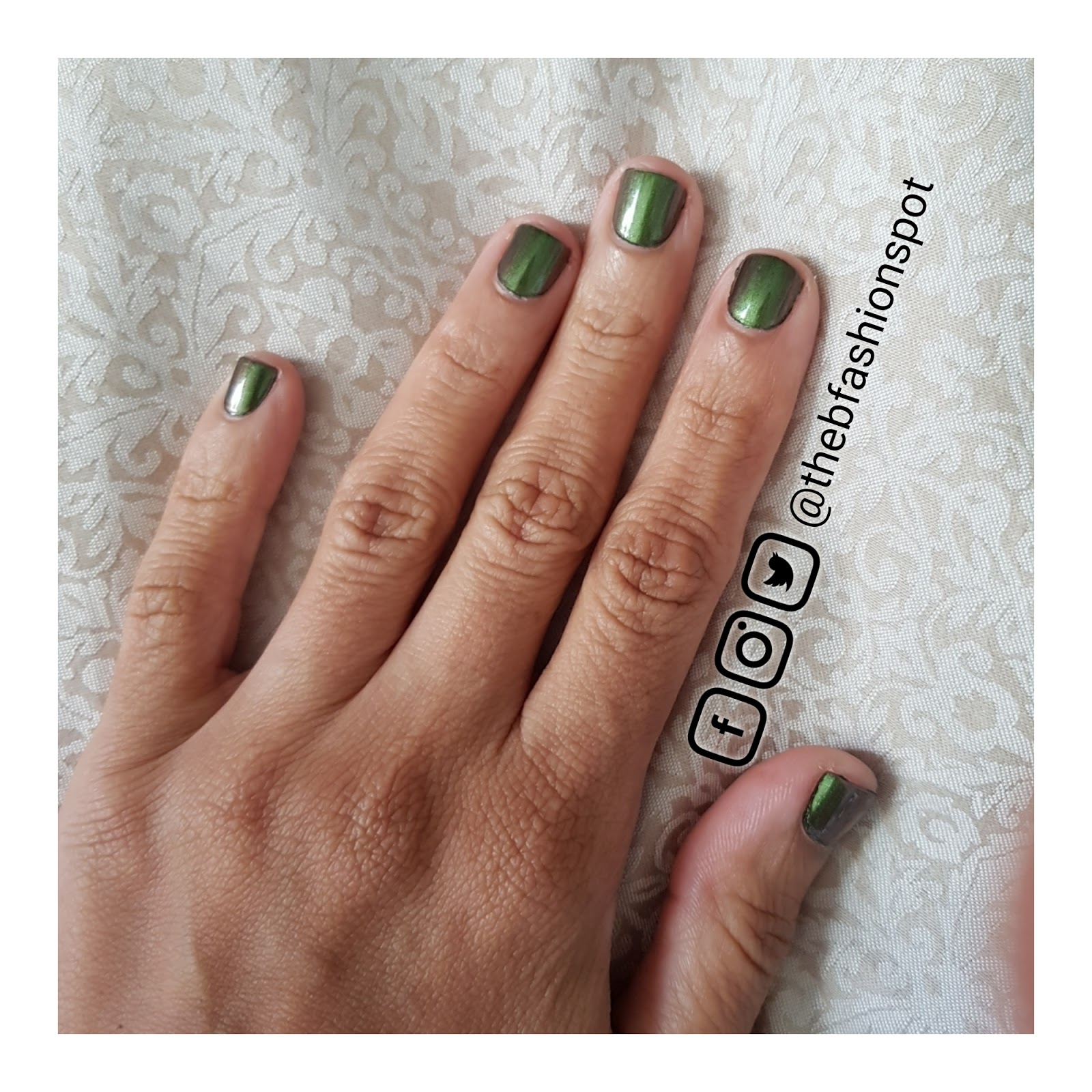 The B Fashion Spot Esmalte Emerald Blaze