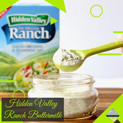 Hidden valley ranch buttermilk dressing mix Recipe