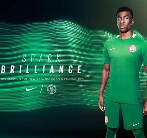 NFF Unveils New Jersey For Super Eagles After Signing Multimillion Naira Deal 3
