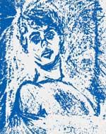El poeta hace 20 años. Autorretrato en Azul.