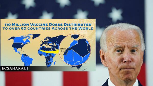 Biden borra el tuit del mapa que mostraba el Sáhara Occidental separado de Marruecos.