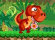 Dino Super Jump no Jogos de Dinossauros
