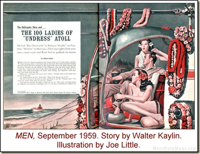 05 - MEN, Sept 1959, Walter Kaylin, art by Joe Little