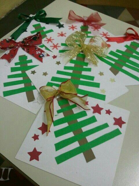 Nunca m s aburrido f ciles tarjetas navide as para hacer - Como hacer tarjetas de navidad faciles ...