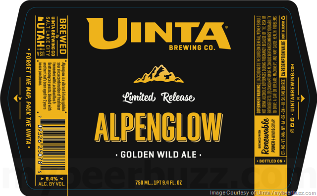 Uinta Brewing - Alpenglow Golden Wild Ale