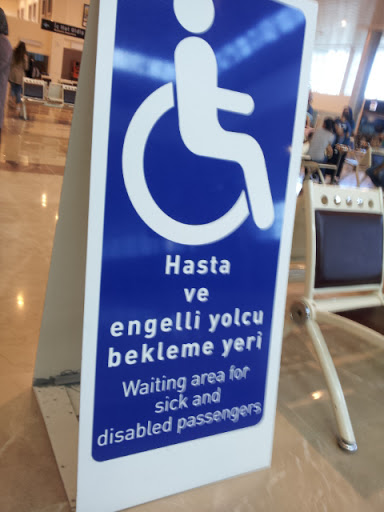 Accessible airports in Turkey