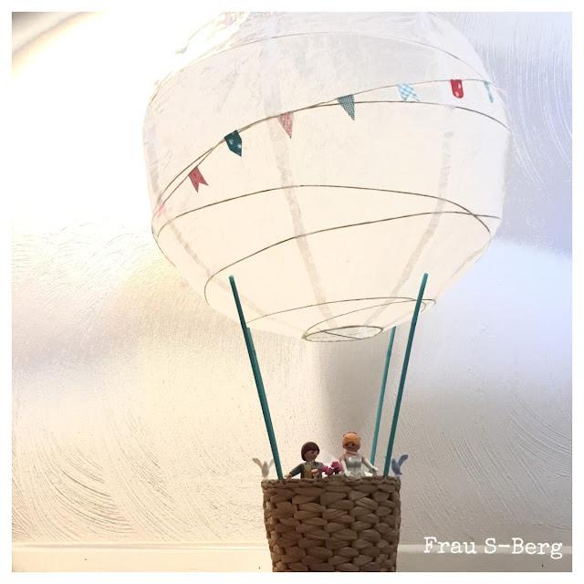 Frau S Berg Geldgeschenk Zur Hochzeit Heissluftballon