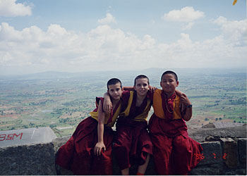 Kunkyen, Osel and Gomo Tulku