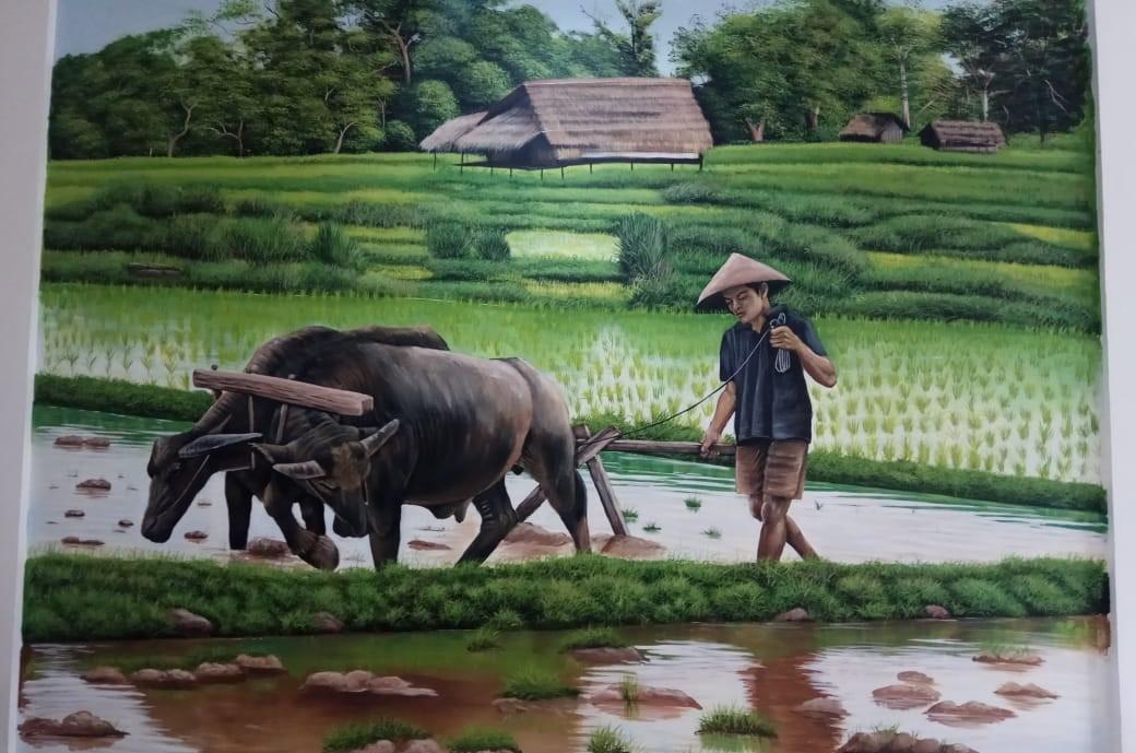 Jasa Lukisan Mural Tema Lingkungan Terkeren