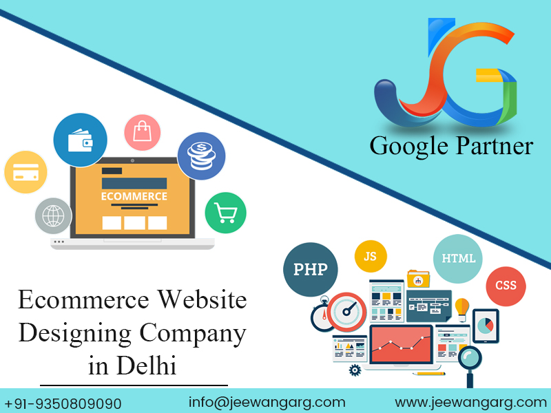 Ecommerce website Designing Company in Delhi