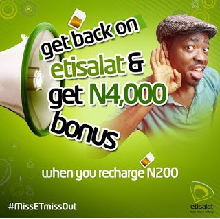 How To Get 750MB On A Recharge Of N200 On Etisalat 1