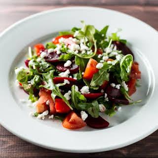 Tomato & Pickled Beet Salad.