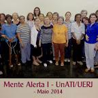 Mente Alerta 1 - UnATI/UERJ - Maio 2014