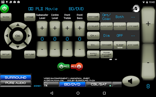 Remote for Onkyo AV Receivers & Smart TV/Blu-Ray screenshot 9
