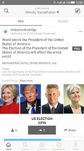 WeVote- screenshot thumbnail