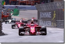 La doppietta Ferrari a Monaco