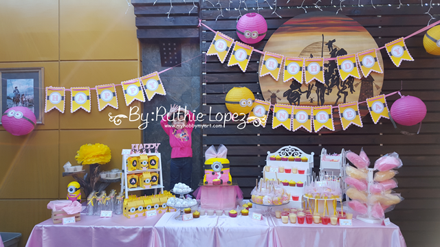 Minion Girl Birthday Party -  SnapDragon Snippets - Ruthie Lopez - My Hobby My Art 31