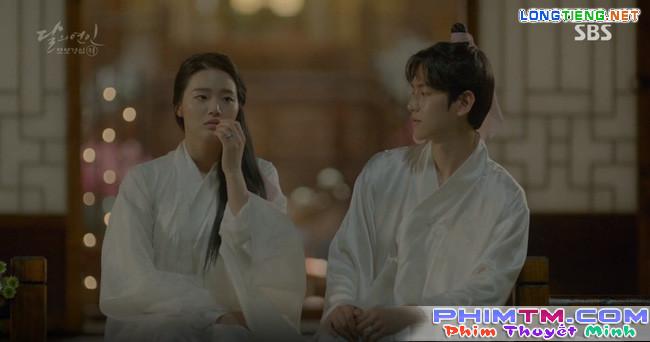 """Moon Lovers: """"Mười"""" Baekhyun chính thức có nụ hôn màn ảnh đầu tiên! - Ảnh 5."""