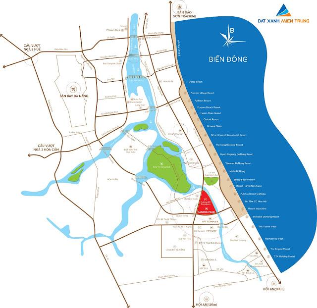 bản đồ quy hoạch phía nam đà nẵng