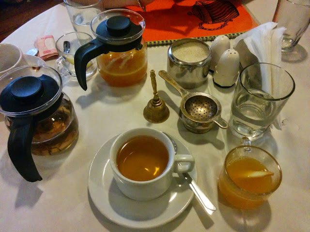 Apple Butter Tea at Tea Centre