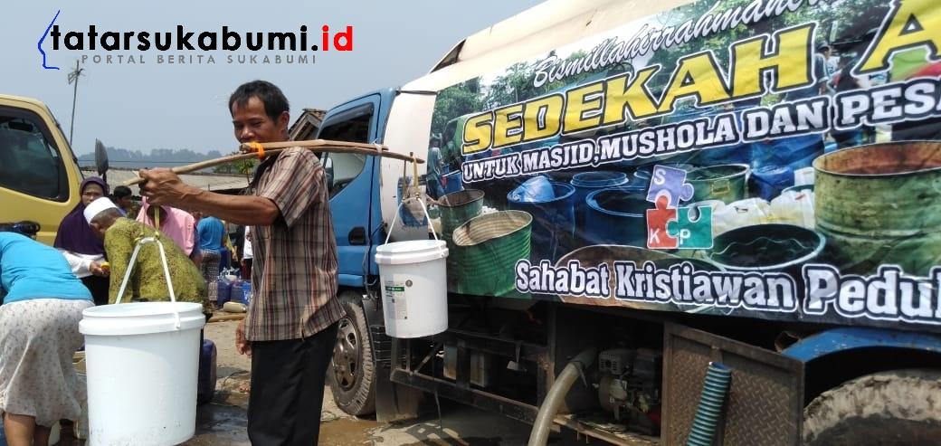 Krisis Air Bersih di Sukabumi, Kristiawan : Bantuan Air Bersih Bukan Solusi