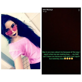 """I can squirt more than most women""- Bobrisky"
