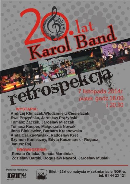 20 lat Karol  Band @ Nowy Tomyśl