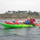 Découverte du kayak de mer à Dinard - octobre 2015