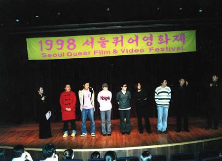 First lesbigay film fest-Soeul
