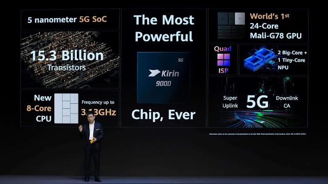 معالج كيرين 9000 الجديد بمعمارية 5 نانو متر