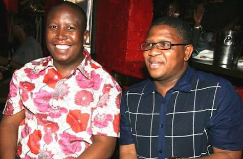 """""""Malema Is Not Fake,"""" Mbalula Praises Juju."""