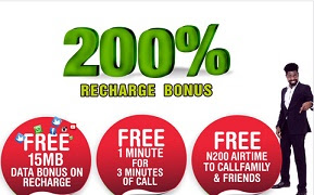 How to activate / deactivate Glo 200% Bonus Promotion