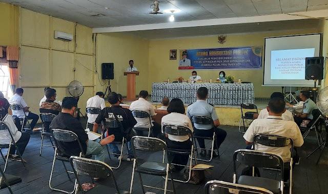 Dispora Pulpis Gelar Konsultasi Publik tentang Raperda Kepemudaan