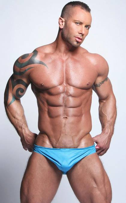 Men's Perfect Body to Bookmark - Scott Cullens