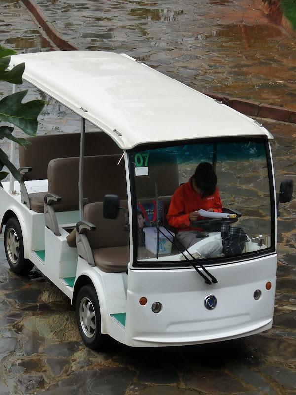 minibus ''privé'' car il n'y avait pas grand monde