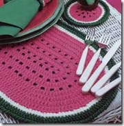 Crochet watermelon 01