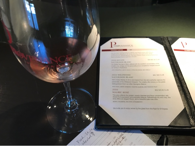 Provenance Vineyards Malbec Rosé 2016