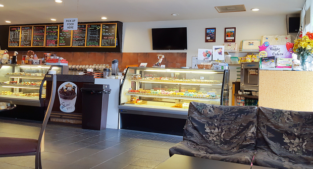 photo of the inside of the bakery