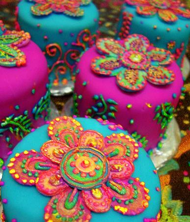 Decoration Gateau Theme Bollywood