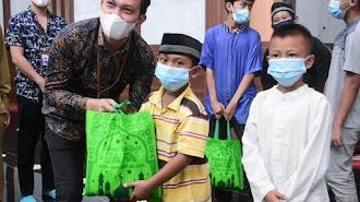 PT Jasa Kawan Indonesia Berikan Bantuan Kepada Yatim Piatu dan Jompo
