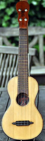 Herdim Concert or long scale Ukulele
