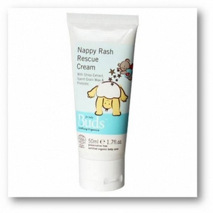 BUDS SOOTHING ORGANICS Nappy Rash Rescue Cream 50ml by GREEN WHEEL INTERNATIONAL SDN BHD