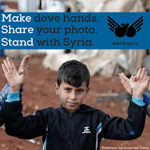 People in Need joined #withsyria campaign.